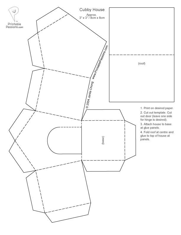 bird house box template
