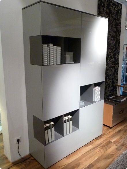 ambienta solit rschrank karat breite 120 cm h he 198 cm tiefe 41 cm korpus in lack middle. Black Bedroom Furniture Sets. Home Design Ideas