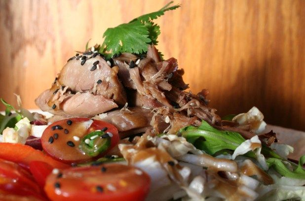 Salade de confit de canard asiatique | Métro