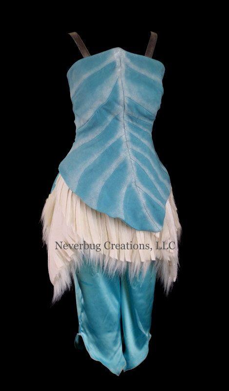 Adult Periwinkle Custom Costume by NeverbugCreations on Etsy, sabra costume idea