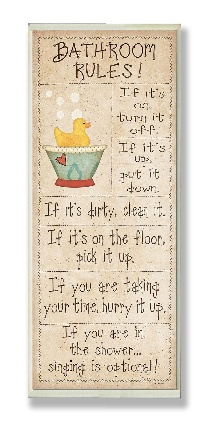 Bathroom rules picture - Best 25 Bathroom Rules Ideas On Pinterest Bathroom Signs Funny Restroom Signs And Etsy Sign In