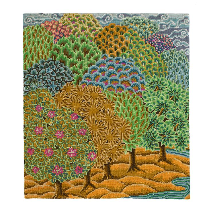 Mughal Forest - Ehrman Tapestry - Kaffe Fassett - available before June 2014 on their site only