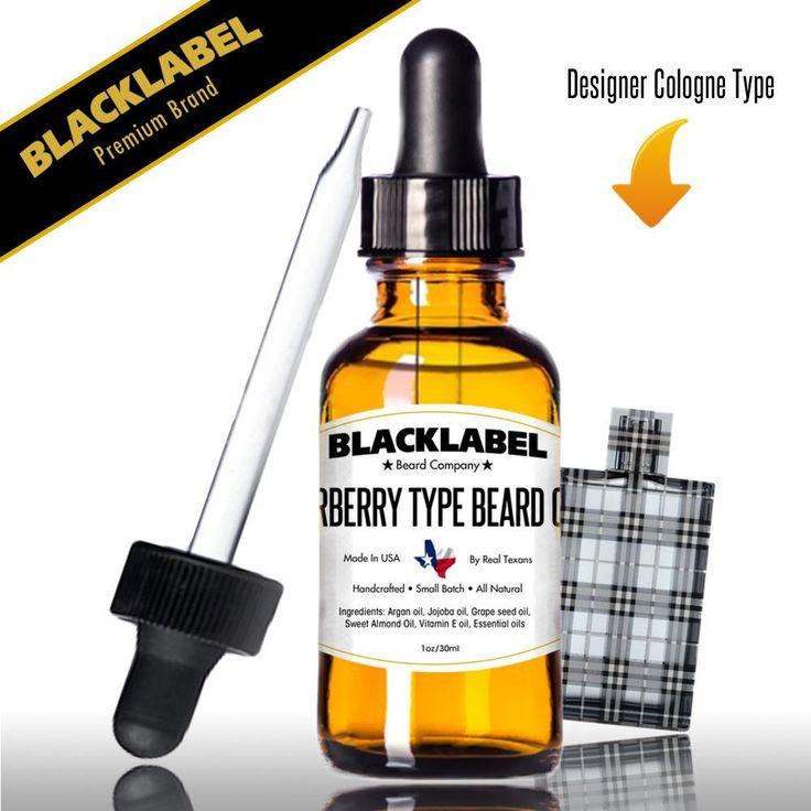 Burberry Cologne Type Beard Oil