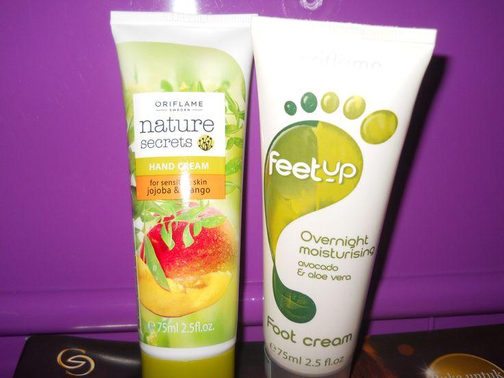 hand cream for sensitive skin and foot cream moist