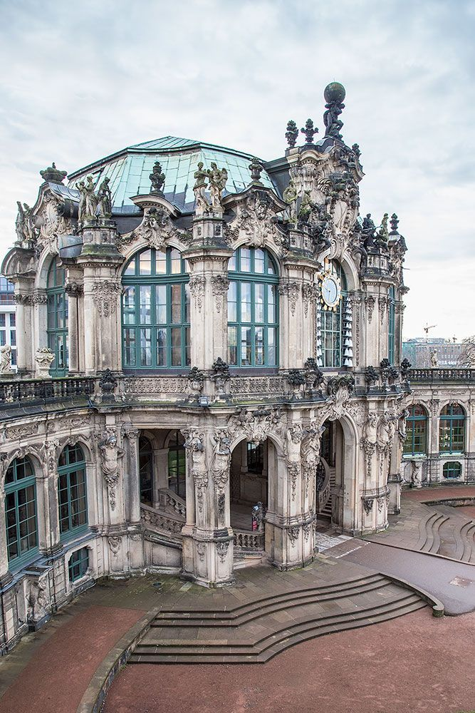 Zwinger Palace was built in Dresden, the capital of Saxony, during the reign of Augusts the Strong in the year 1709, and has been famous ever since for it's stunning baroque architecture.