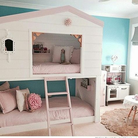 bett und kuschelh hle home kinderzimmer pinterest. Black Bedroom Furniture Sets. Home Design Ideas