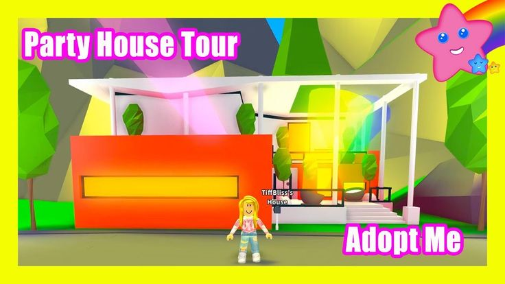 Huge Party House Decorating And Tour In Roblox Adopt Me Wine Bottle Centerpieces House Party Adoption