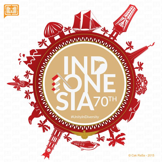 70th Indonesia Independence Day Vector Design. on Behance
