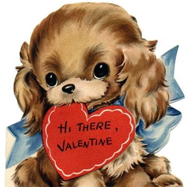 47 best Valentines Day  Vintage Images images on Pinterest