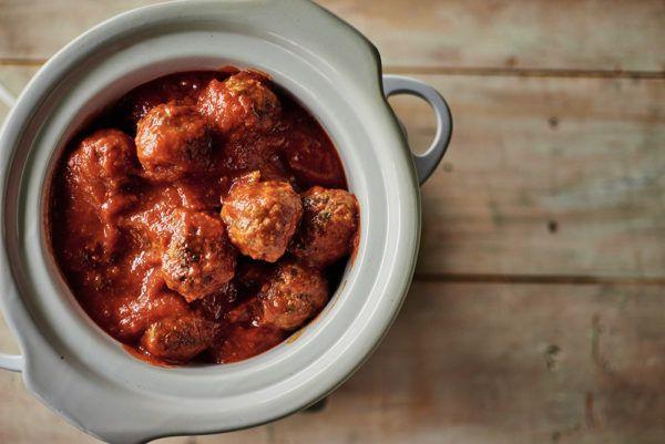 Meatballs in Crockpot