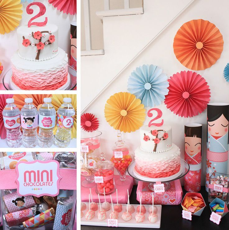 japan party lolly buffet style - Google Search