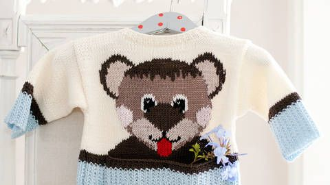 Manni Taddles - Babypullover mit Bärenmotiv bei Makerist