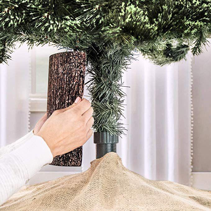 Amazon Com The Christmas Tree Hugger Christmas Tree Skirt Accessory Christmas Tree Collar In 2020 Christmas Tree Ring Types Of Christmas Trees Christmas Tree Smell