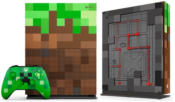 Presentada la Xbox One S Minecraft Limited Edition