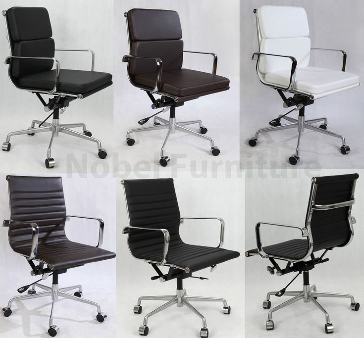 Metro Eames Style Office Chair White Metro Eames Style Office