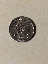 Rare Misprinted Error Quarter Dollar 1996 Coin