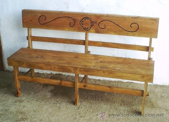 65 best images about legno panca wooden bench on - Muebles antiguos de madera ...