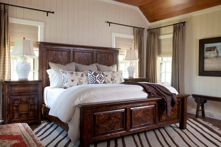 Contemporary Bedding Sets with Oversized Window Bi-fold Windows Tray Ceiling Blue Patterned