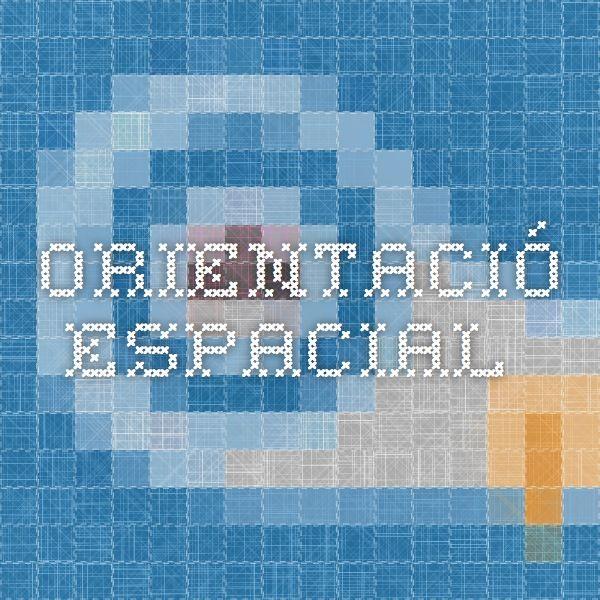 Orientació espacial. edu365.cat Materials TIC