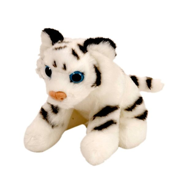 Stuffed White Tiger 5 Inch Itsy Bitsy Plush Wild Cat by Wild Republic - Adopt a tiger - Nahal party favor for a Shimmer and Shine party.