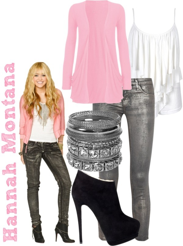 """Hannah Montana"" by jami1990 ❤ liked on Polyvore"