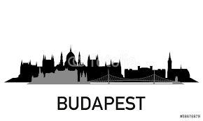 """Képtalálat a következőre: """"budapest skyline silhouette"""""""