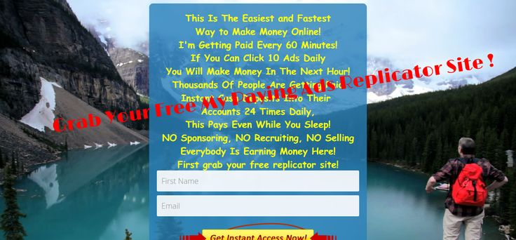 GRAB Your Free My Paying Ads Replicator Site Here: Build My paying Ads with the replicator site and earn 14 income stream