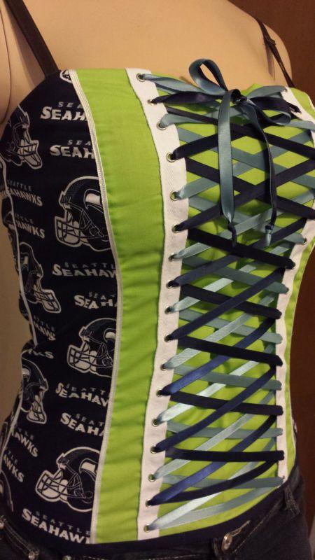 Seahawks corset!?   A-dor-able!!!