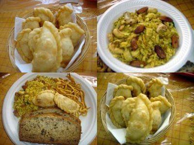 Holi Food.