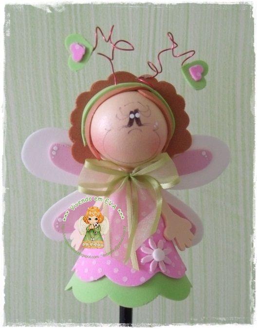 fun foam butterfly doll (photo)