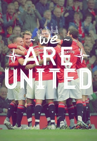 Manchester United  #manchester #united #soccer #team #poster #awesome #cool