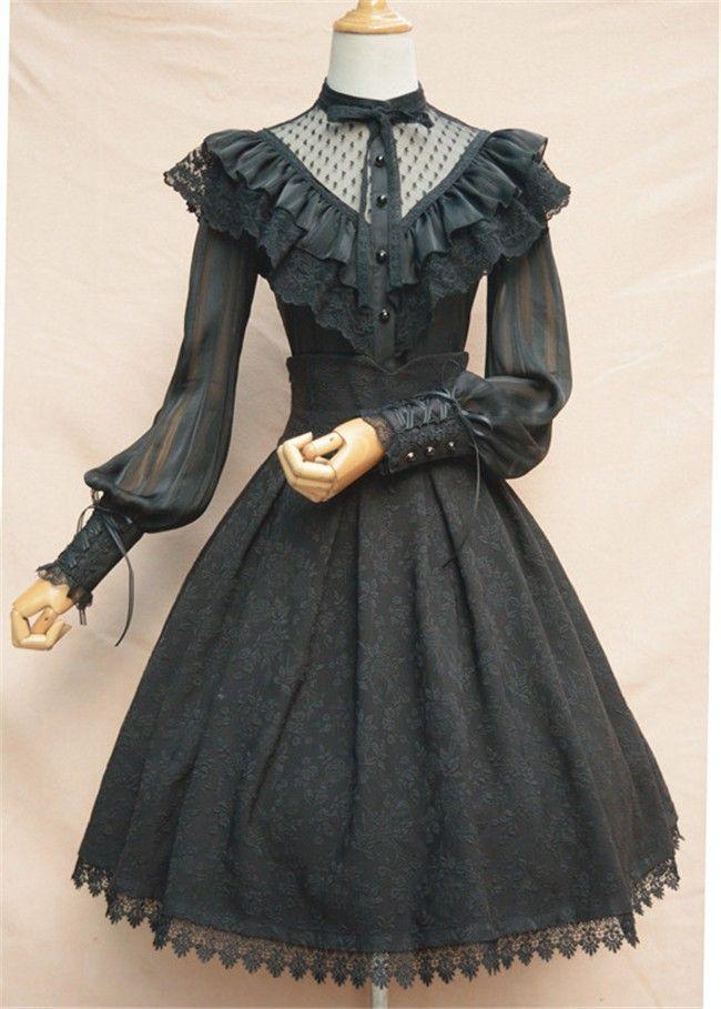 #LolitaUpdate: Newly Added [-✔-Cheap Vintage-★-] Lolita Skirt