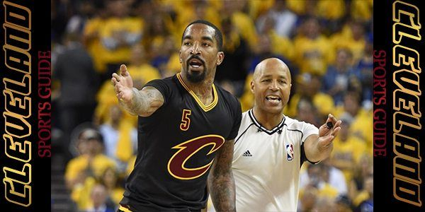 Cleveland Cavaliers Guard JR Smith Game Time Decision