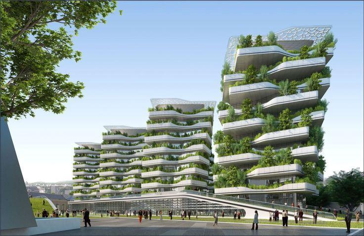 Vincent Callebaut Masterplan Predicts Future of Self-Sustaining Cities:
