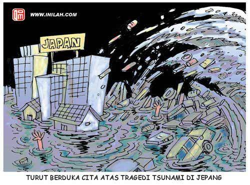 Dampak gempa dan tsunami Jepang dinilai akan lebih memberikan ancaman serius bagi kondisi perekonomian dan politik nasional daripada sekadar berita heboh media massa Australia tersebut.
