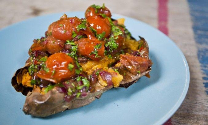 Sorted Food's jerk sweet potatoes
