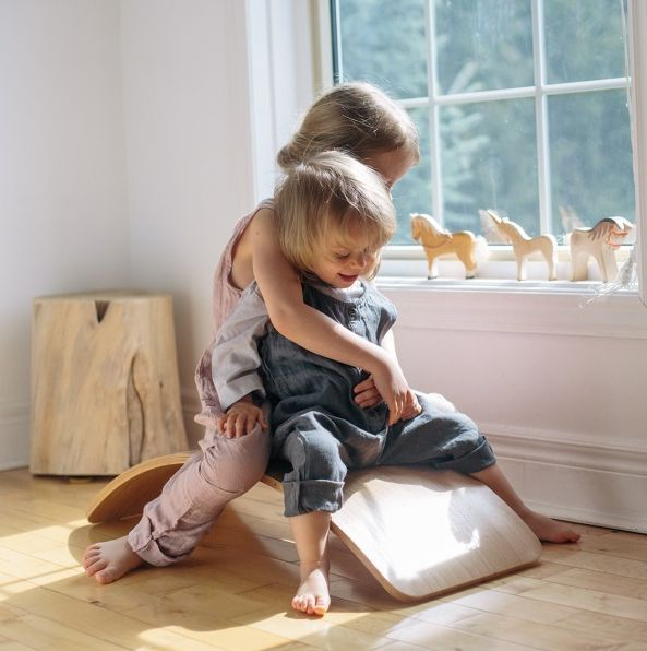 Kinderfeets | Wooden Wobble Kinderboard Natural | Entropy  #EntropyWishList #PinToWin
