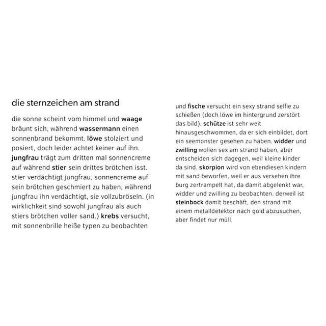 sand #wassermann #strand #stier #sonne #zwilling #sommer #schütze #krebs #kurzgeschichte #skorpion #steinbock #horoskop #ferien #jungfrau #fische #geschichte #sternzeichen #widder #waage #löwe #sonnencreme – Tanja Dill