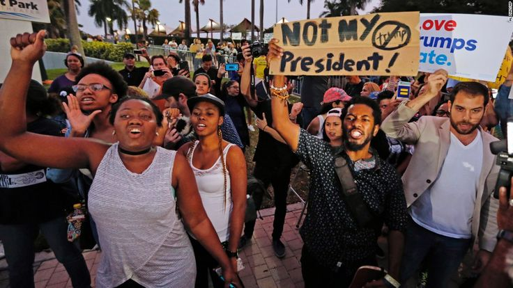 Thousands took to the streets of cities across the United States late Friday and early Saturday as anti-Donald Trump protests saw highways and interstates blocked, numerous arrests -- and a shooting at a march in Portland, Oregon.