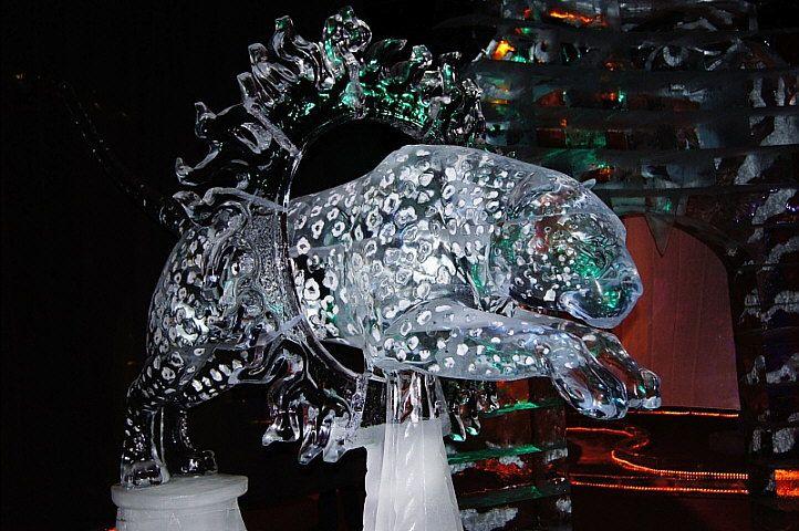 animal snow sculptures - photo #47