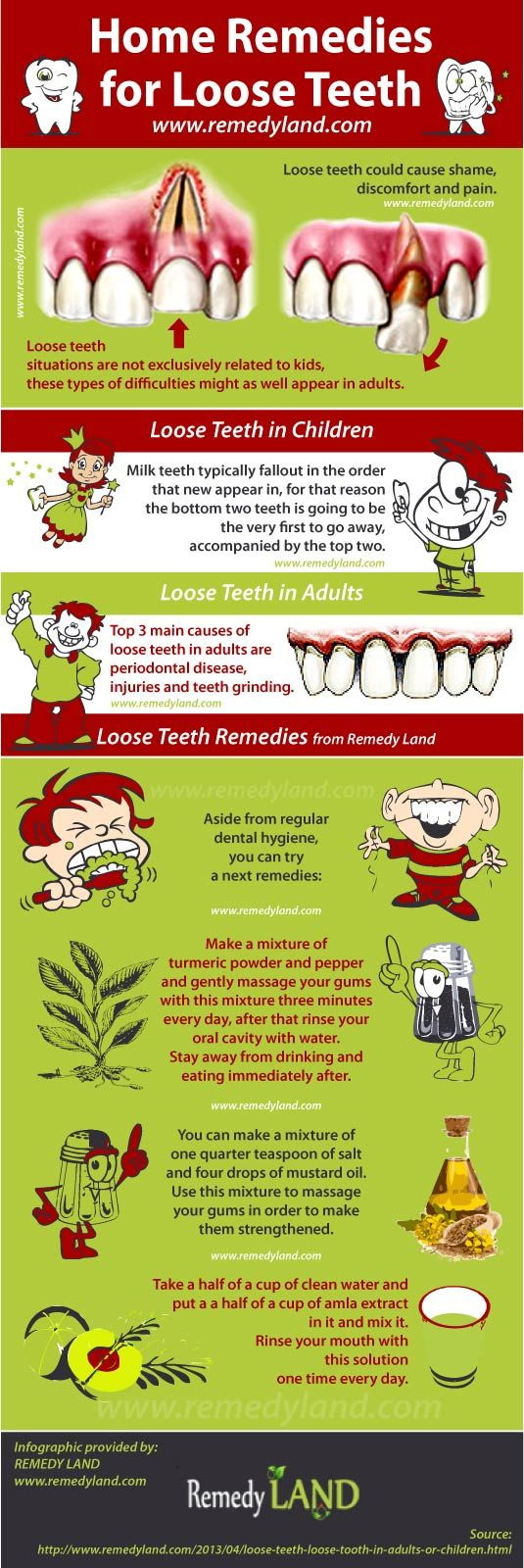 Loose teeth or loose tooth situations are not exclusively related to children, loose teeth or loose tooth difficulties might as well appear in adults.