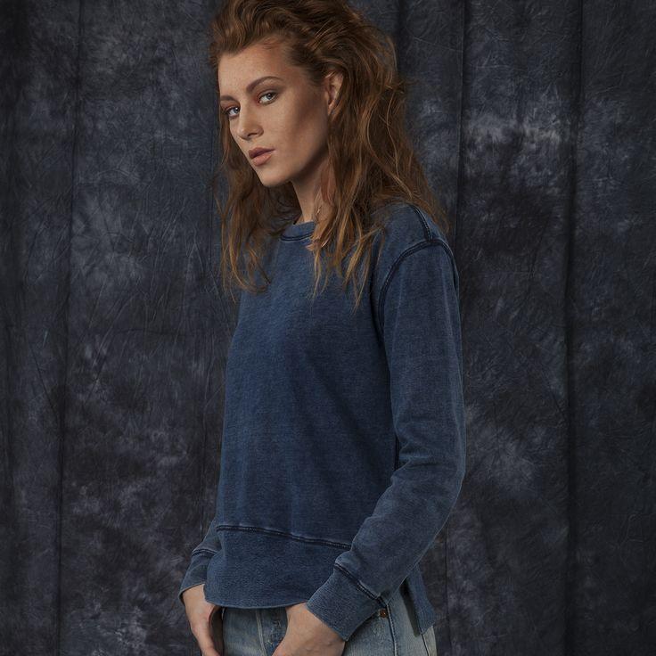 #jeansstore #womencollection #women #sweatshirts #onlinestore #online #store #shop #fashion #standard #mustang #cold #dye #cotton #dressblue #studio #photosession #modelka #sale #upto60
