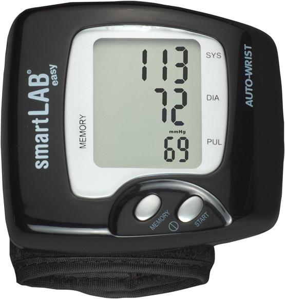 Das smartLAB®easy Blutdruckmessgerät ist ein kleines und einfach zu bedienendes Messsystem fü das Handgelenk.     http://www.smartlab.org/blutdruck/easy.html