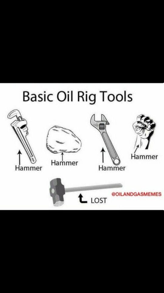 Oil field humor