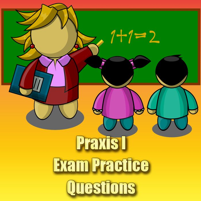 If you're considering becoming a teacher, you'll need to have a high score on the Praxis I exam. These free Praxis I exam practice questions will prepare you for the actual Praxis I exam. #praxis #teaching
