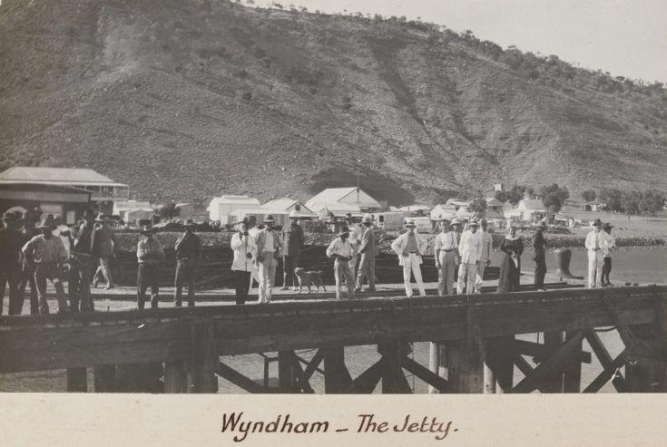 3231B/97: Wyndham Jetty, 1916 http://encore.slwa.wa.gov.au/iii/encore/record/C__Rb4688695?lang=eng