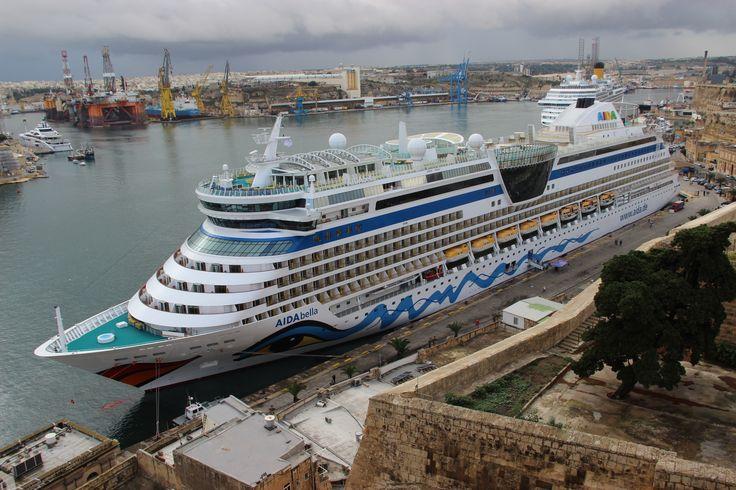 #AIDAbella #Valletta #AIDA #AIDACruises #Kreuzfahrt #cruise #Kreuzfahrtberater #Reise #Urlaub #travel #Schiff #Kreuzfahrtschiff #ship