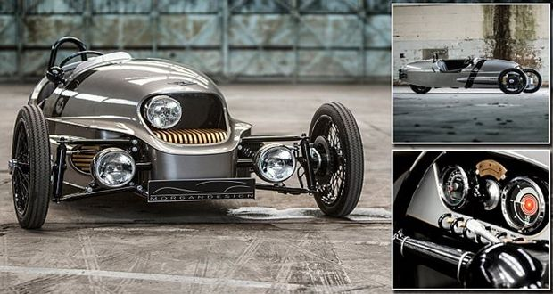 The Morgan EV3 debuts in the world of zero emissions motoring