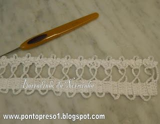 Ponto Preso1: Croche - UM NOVO PASSA FITAS . . .: Crochet Lace Charts Edge, Crochet Biquinho, Crochet Iv, Passa Fita, Crochet Ii, Blog, Crochet Edge, Point Preso1, Crochet Lacechartsedg