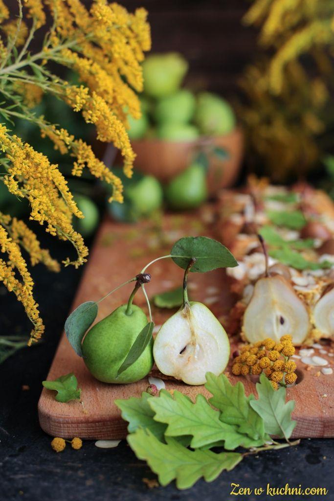 Mini Gruszki W Ciescie Migdalowym Bez Glutenu I Cukru Zen W Kuchni Recipe Fruit Yum Food